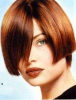 Создание плоских локонов от концов волос
