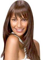 «Каскад» на длинные волосы